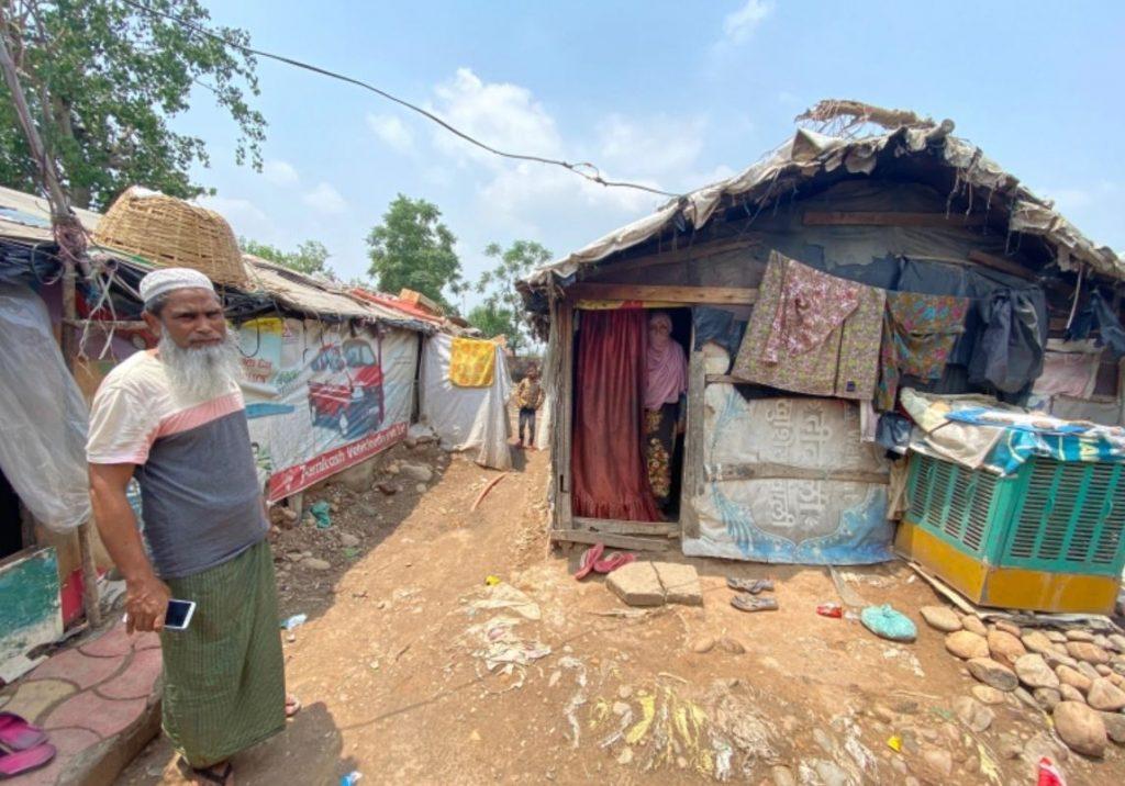 ผู้ลี้ภัยชาวโรฮิงญา ต่อสู้เพื่อวัคซีนในอินเดียที่ได้รับผลกระทบจากโควิด19 เมื่อต้นเดือนนี้ นูร์ ไอชา ผู้ลี้ภัยชาวโรฮิงญาอายุ 55 ปี เสียชีวิต
